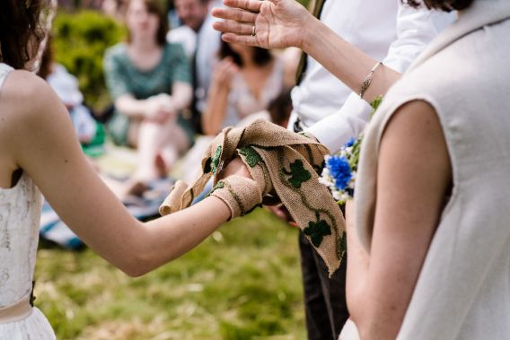 handfasting with crochet