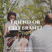 Friend or celebrant image